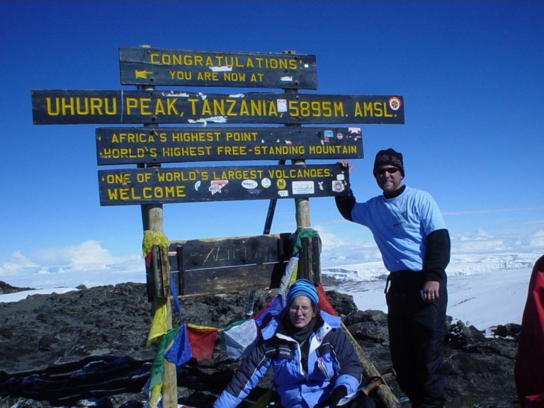 Kilimanjaro Summit-Dave and Tawnia Adams-October 31.2003.jpg